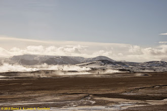 Photo: Geothermal area near Krysuvik, Iceland