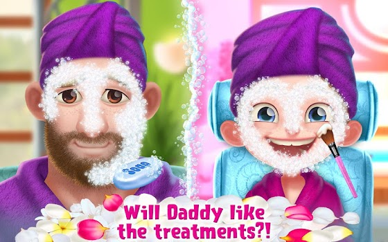 Spa Day with Daddy - Makeover Adventure for Girls