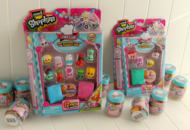Shopkins Chef Club for my DIY Shopkins Advent Calendar