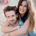 USA DATING APP icon
