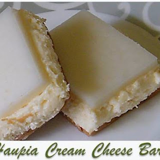 Haupia Cream Cheese Bars