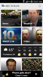 NBC 10 News App - screenshot thumbnail