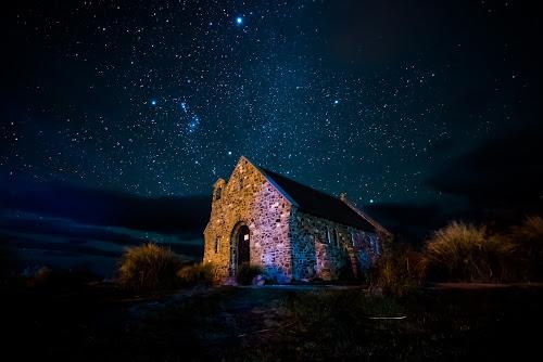 Lake Tekapo New Zealand by Santhosh Pereparambil - Landscapes Starscapes ( nikon d750, lake tekapo, samyang 14mm 2.8, stargazer, new zealand )