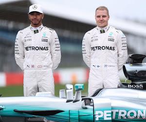 Mercedes decimeert de rest in eerste vrije oefensessie Barcelona