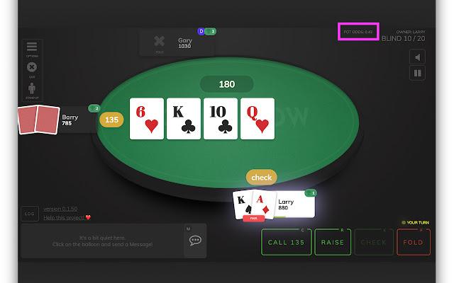 Poker Now Pot Odds Calculator