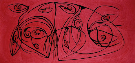 Photo: Losing Sight of Perspective 39 - 36 x 72 inch - Pen & Ink on paper