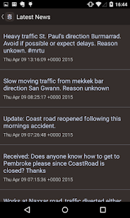 Maltese Roads Traffic Updates- screenshot thumbnail