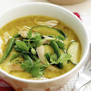 Green Chicken Curry.