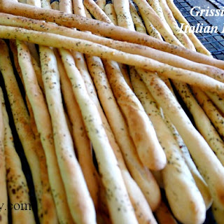 Grissini - Crunch Italian Breadsticks.
