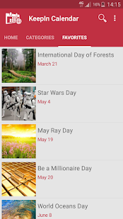 International Holiday Calendar- screenshot thumbnail