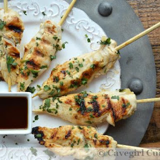Asian Grilled Chicken Tenders.