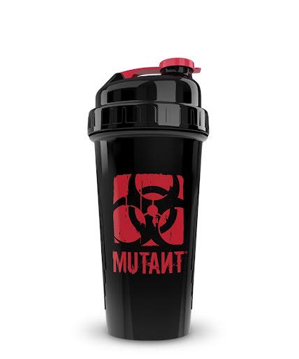 Mutant Shaker 700ml Black & Red