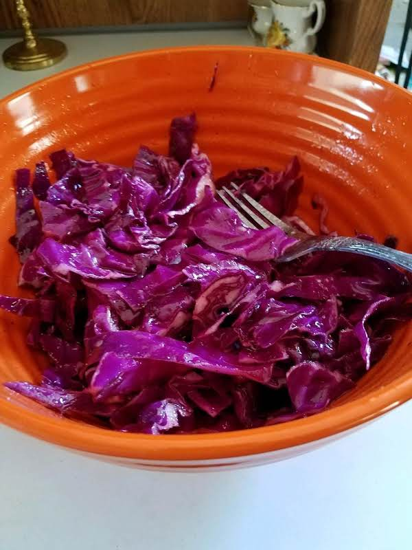 Northwoods Inn Red Cabbage Salad Recipe