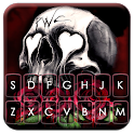 Skull Roses Keyboard Theme icon