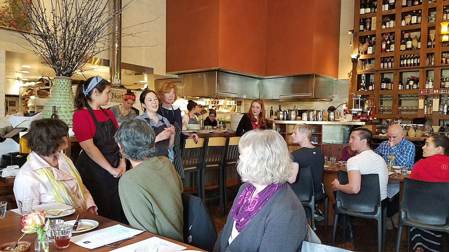 Breaking Bread with Meadowlark PDX and Nostrana to benefit the Cascade AIDs Project (CAP) with a luncheon featuring Iranian cuisine