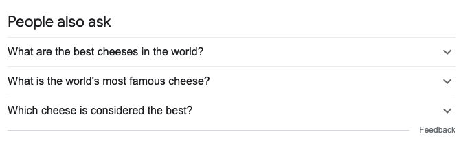 questions on Google