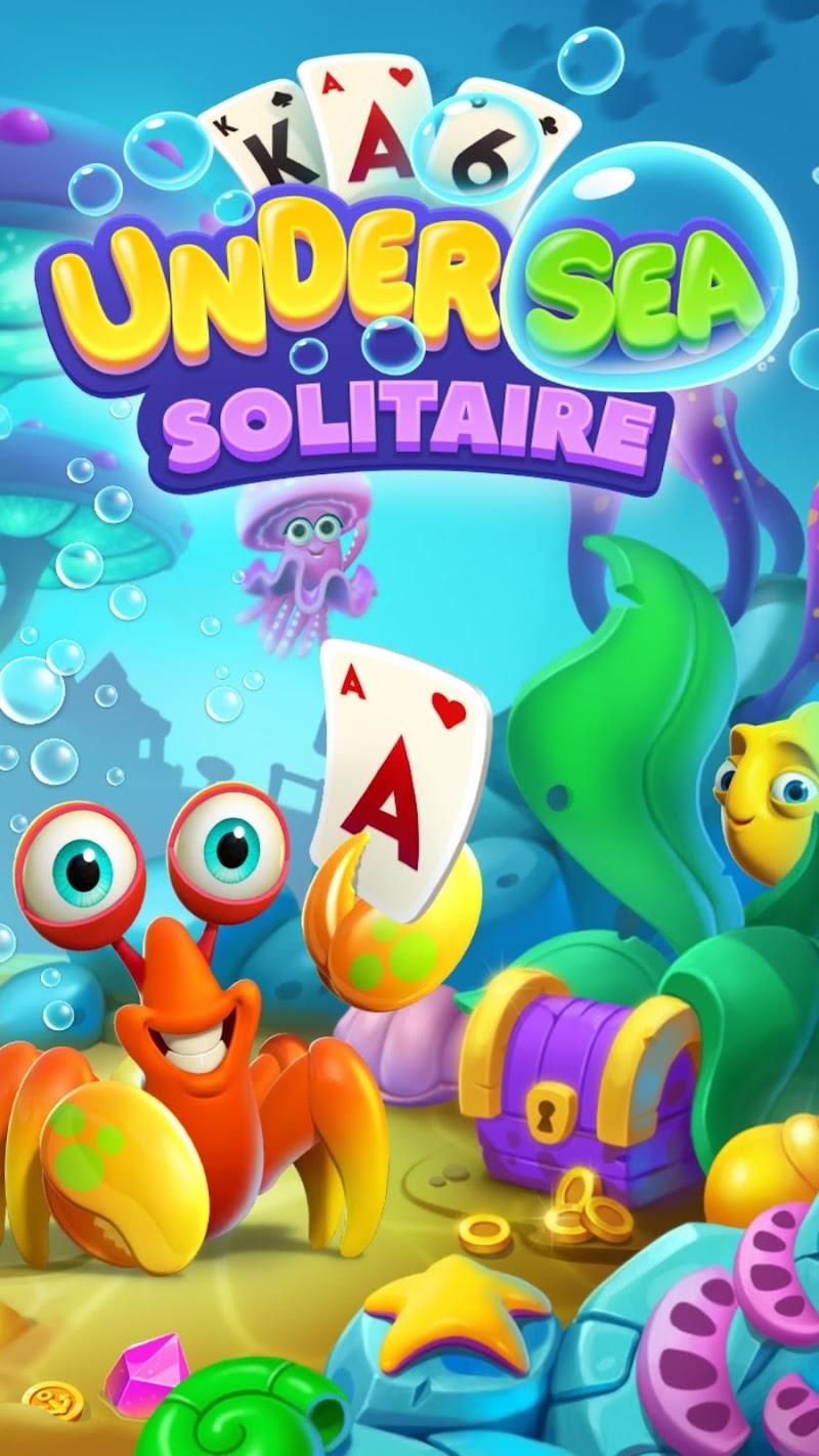 Скриншот Undersea Solitaire Tripeaks