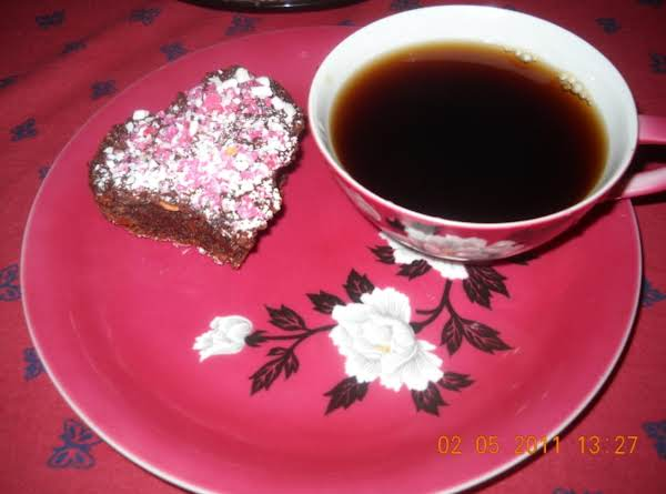 Sweet Heart Nutty Brownies Recipe