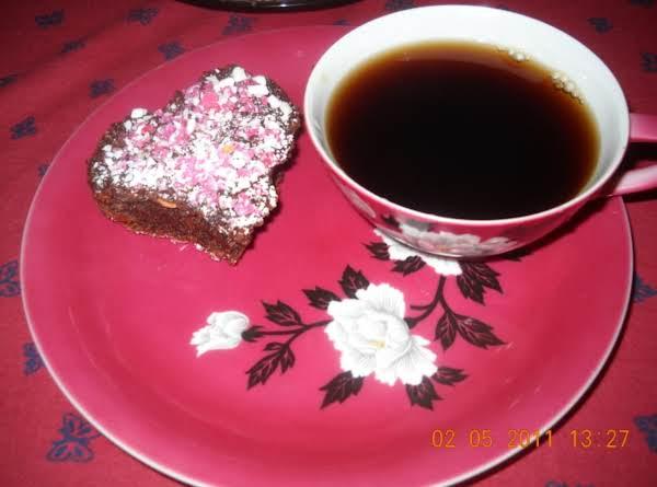Sweet Heart Nutty Brownie♥
