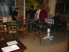 Photo: La salle réservée au tournoi