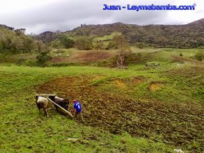 Photo: Preparando el terreno para sembrar las papas