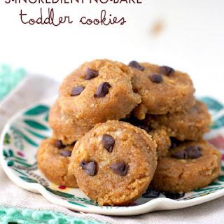 3-Ingredient No Bake Toddler Cookies