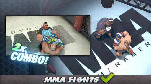 MMA Manager apkmr screenshots 2