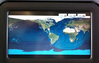 Photo: Avianca Airlines, Miami to Bogota.