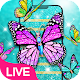Glitter Butterfly Live Wallpaper Download for PC Windows 10/8/7