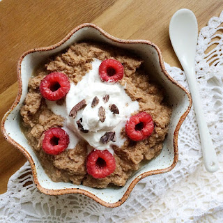 "Cacao Coconut ""Porridge"""