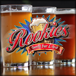 Logo for Rookies Sports Bar and Grill