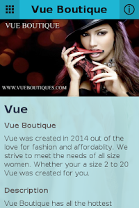 Vue Boutique screenshot 0