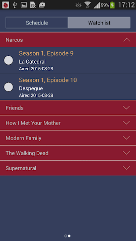 android TV Series Tracker Screenshot 3