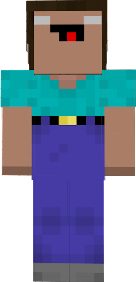3d herobrine derp that has long,thick hair