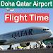 Doha Qatar Airport Flight Time icon