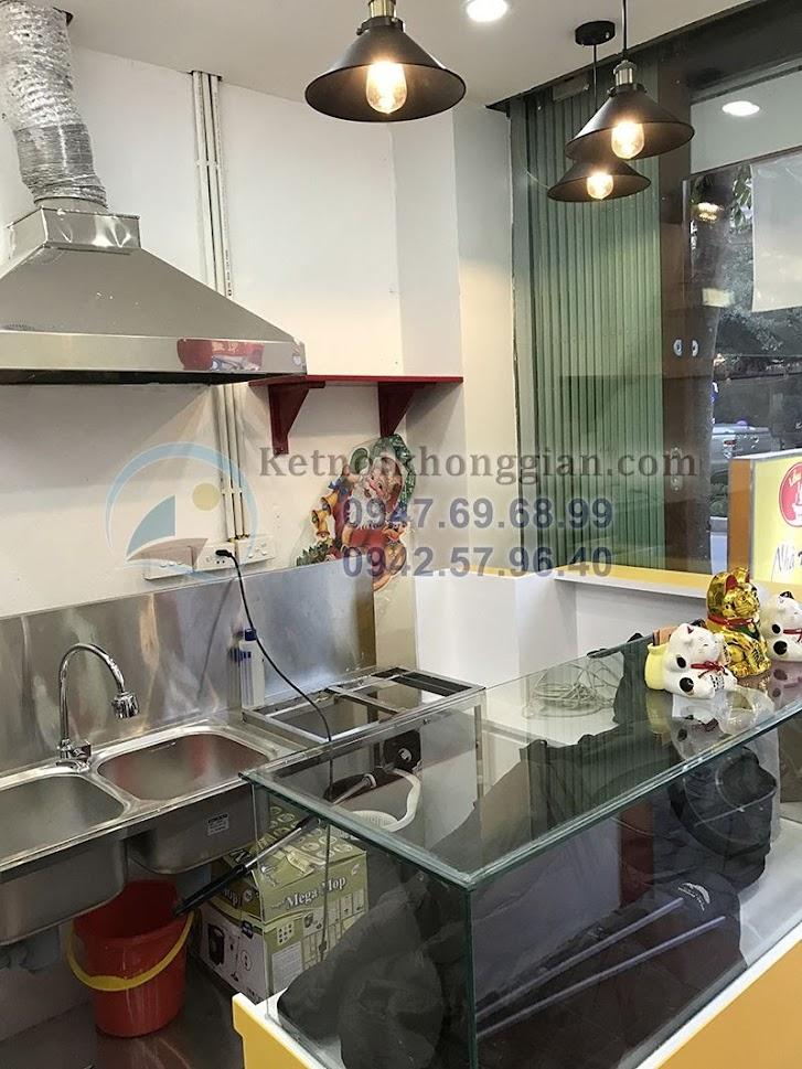 thi công cửa hàng ăn nhanh tại Hà nội