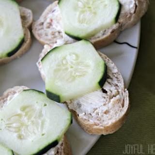 Healthy Cucumber Sandwiches Recipes.