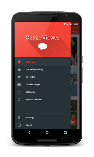 Material Comic Viewer Free
