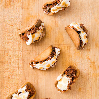 Graham Cracker Taco Shells
