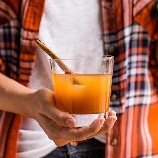 Bourbon Ginger Cider Cocktails.