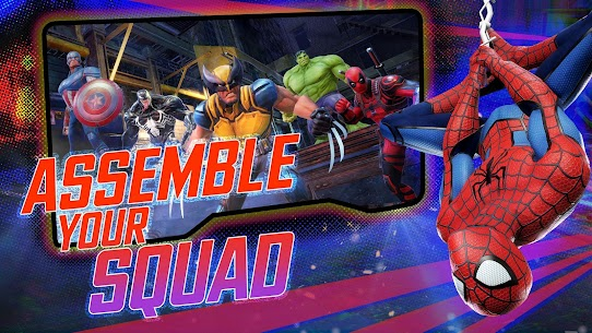 MARVEL Strike Force Mod 3.4.2 Apk [Unlimited Money] 1