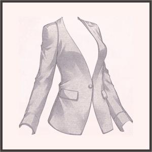 普通のジャケット