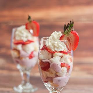 Greek Yogurt Berry Trifles