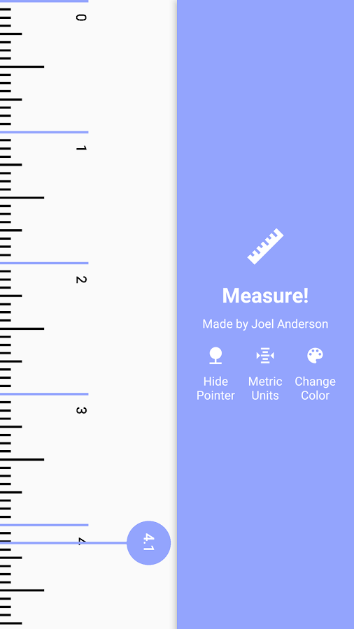 Measure (Material Ruler)- screenshot