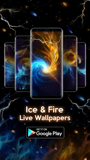 Ice Fire Wallpaper Themes screenshot 5