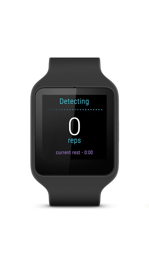 Exercise Tracker: Wear Fitness- screenshot