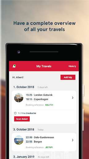 Norwegian Travel Assistant  screenshots 1