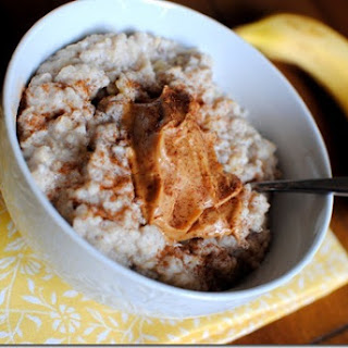 Three-Minute Egg White Oatmeal