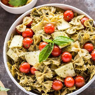 Basil Pesto Pasta Salad.