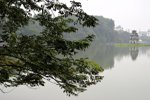 truc-bach-lake.jpg -  Scenic Trúc Bạch Lake in Hanoi. (Claim to fame: It's where John McCain was shot down during the Vietnam War.)